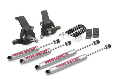 Rough Country 3 in. Leveling Lift Kit w/ Shocks (97-03 2WD F-150)