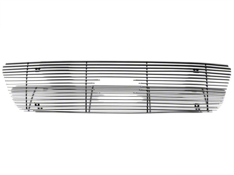 Modern Billet Bar Upper Overlay Grille - Polished (99-03 F-150)