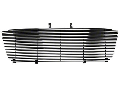 Modern Billet Upper Replacement Grille w/ Emblem Delete - Polished (04-08 F-150 XL, XLT, Lariat)