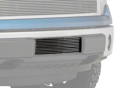 Modern Billet Lower Bumper Grille Insert - Polished (09-14 F-150, Excluding Raptor, Harley Davidson & 2011 Limited)