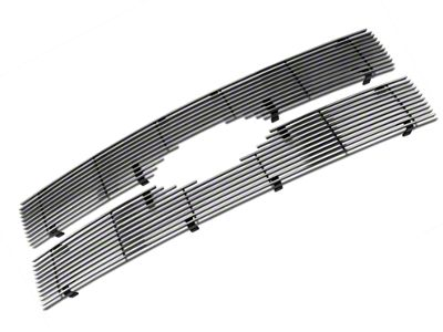 Modern Billet Upper Grille Insert - Polished (09-12 F-150 Platinum)