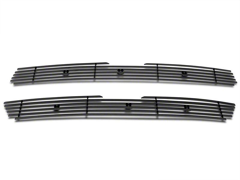 Modern Billet Upper Overlay Grille - Black (97-98 F-150)