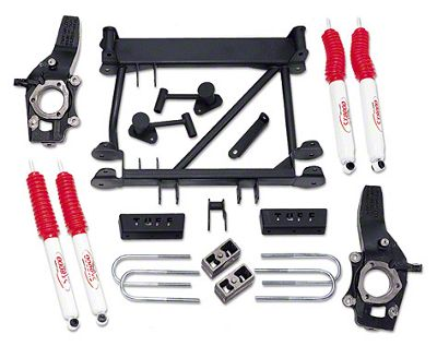 Tuff Country 4.5 in. Lift Kit w/ SX6000 Shocks (97-03 4WD F-150)