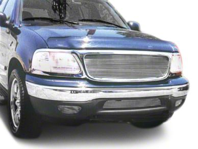 T-REX Billet Series Lower Bumper Grille Insert - Polished (99-03 F-150, Excluding Lightning)