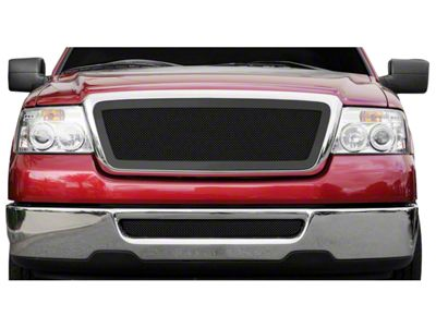 T-REX Upper Class Series Upper Replacement Mesh Grille - Black (04-08 F-150)