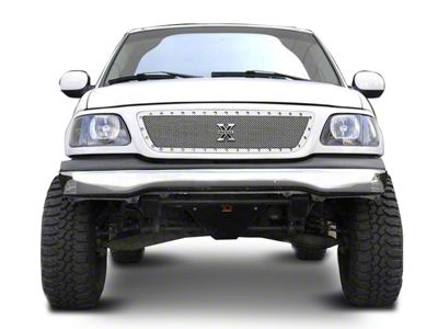 T-REX X-Metal Series Polished Small Mesh Upper Grille (99-03 F-150)