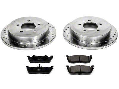 Power Stop Z23 Evolution Sport 5-Lug Brake Rotor & Pad Kit - Front (97-03 F-150)