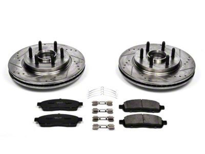 Power Stop Z36 Extreme Truck & Tow 6 or 7-Lug Brake Rotor & Pad Kit - Front (04-08 2WD F-150)