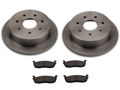 Power Stop OE Replacement 7-Lug Brake Rotor & Pad Kit - Rear (Late 00-03 F-150 w/ Rear Disc Brakes)
