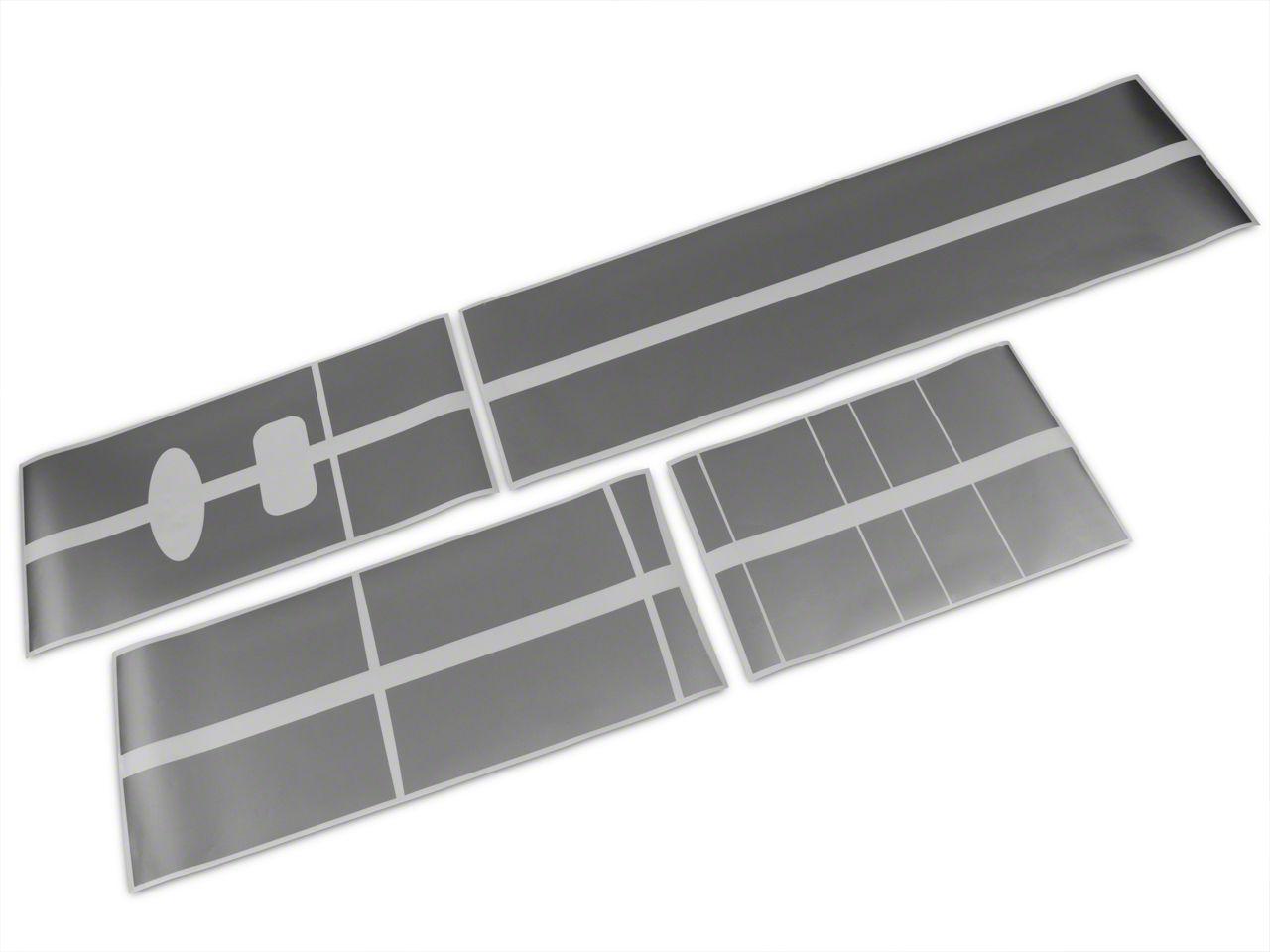 Roush Silver Stripe Kit - Top (04-08 SuperCab, SuperCrew)