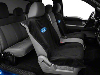 Alterum Seat Armour Protective Cover - Black - Ford Oval (97-18 F-150)