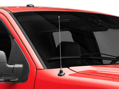 SpeedForm Fixed Chrome Antenna - 14 in. (97-08 F-150)