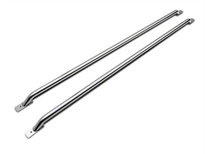 Barricade Bed Rails - Polished SS (97-03 F-150 Styleside w/ 6.5 ft. or 8 ft. Bed)