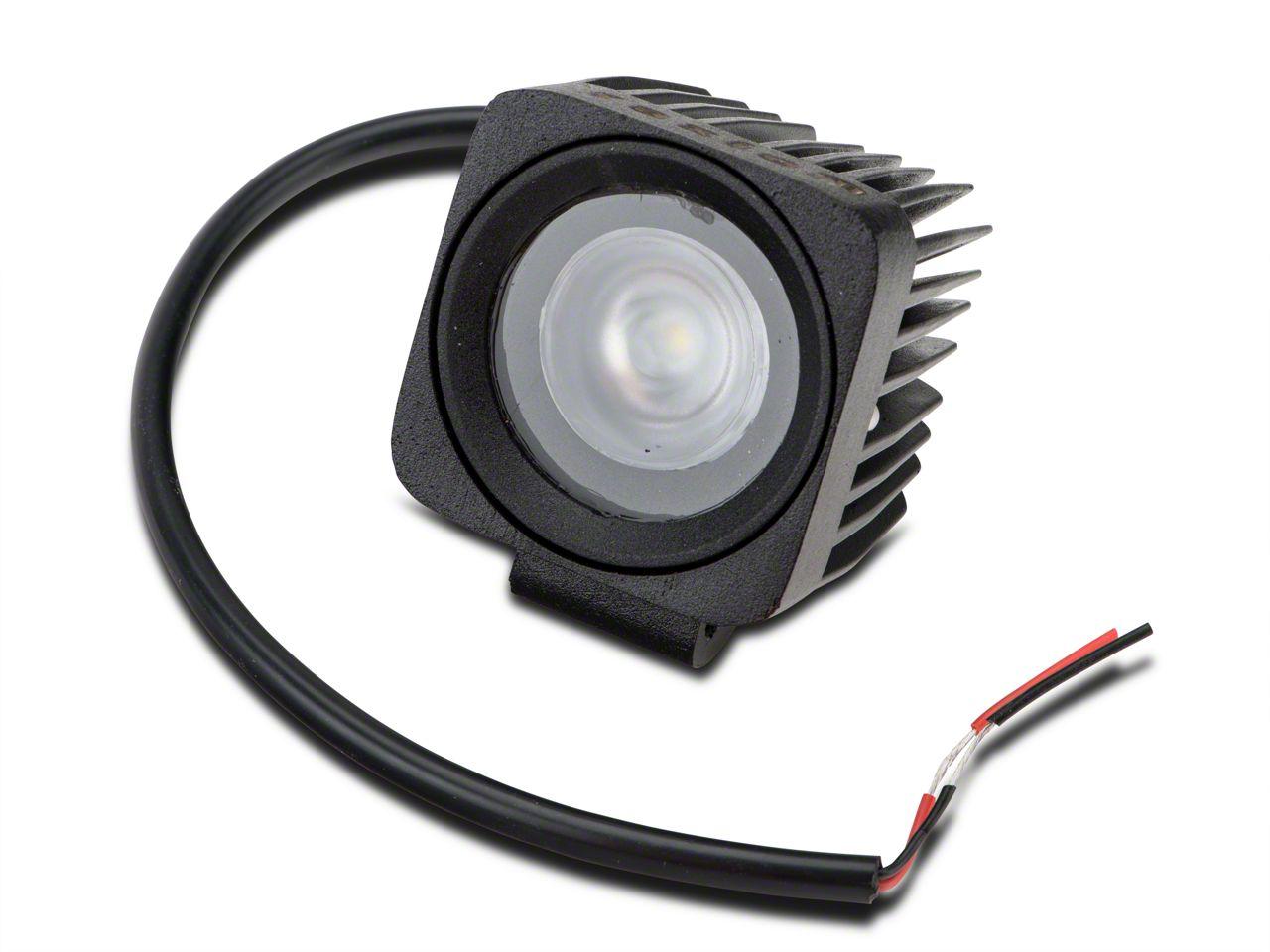 Raxiom 2.5 in. Square LED Light - Flood Beam