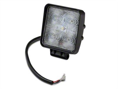 Raxiom 4.25 in. Square LED Light - Flood Beam