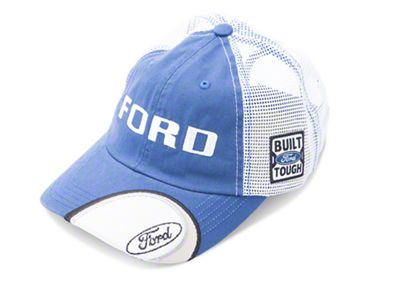Built Ford Tough Trucker Hat - Blue & White