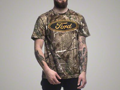 Real Tree Ford Oval T-Shirt