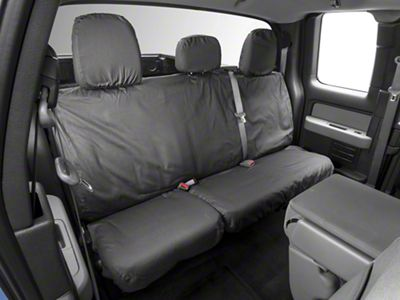 Covercraft Seat Saver 2nd Row Seat Cover - Charcoal (09-14 F-150 SuperCab, SuperCrew)