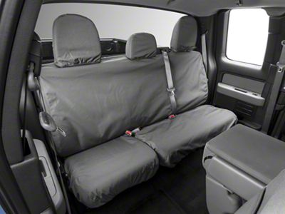 Covercraft Seat Saver 2nd Row Seat Cover - Waterproof - Gray (09-14 F-150 SuperCab, SuperCrew)