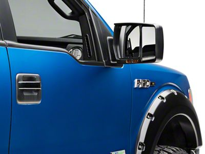 CIPA Custom Towing Mirrors - Passenger Side (04-14 F-150 w/ Standard Mirrors)