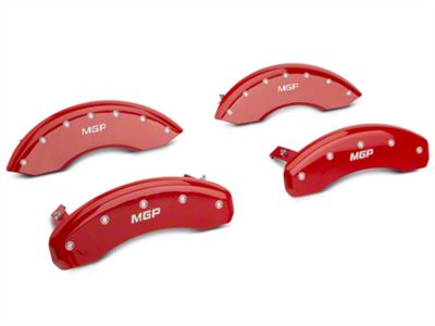 MGP Red Caliper Covers - Front & Rear (04-08 F-150)