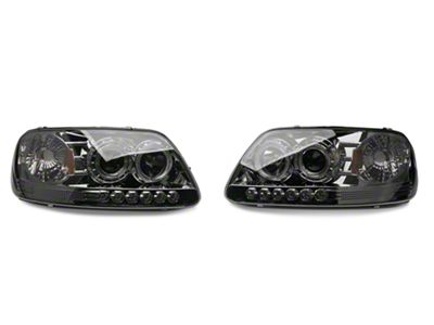 Axial Smoked Projector Headlights (97-03 F-150)