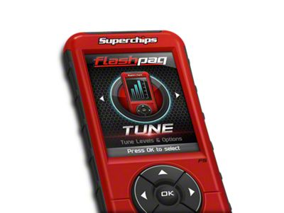 Superchips Flashpaq F5 Tuner - California Edition (11-14 6.2L F-150, Excluding Raptor)