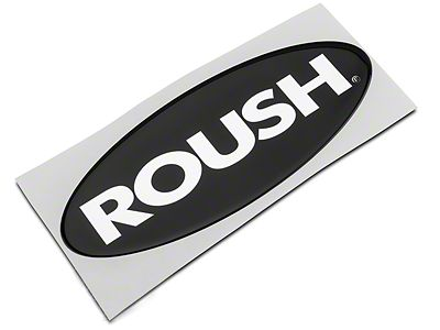 Roush Oval Grille Emblem - Large (04-08 F-150)