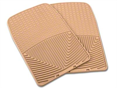 Weathertech All Weather Front Rubber Floor Mats - Tan (97-03 F-150)