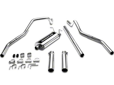 Magnaflow MF Series Dual Exhaust System - Rear Exit (97-03 4.6L F-150)