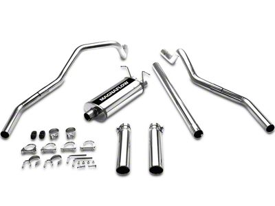 Magnaflow MF Series Dual Exhaust System - Rear Exit (97-03 5.4L F-150)