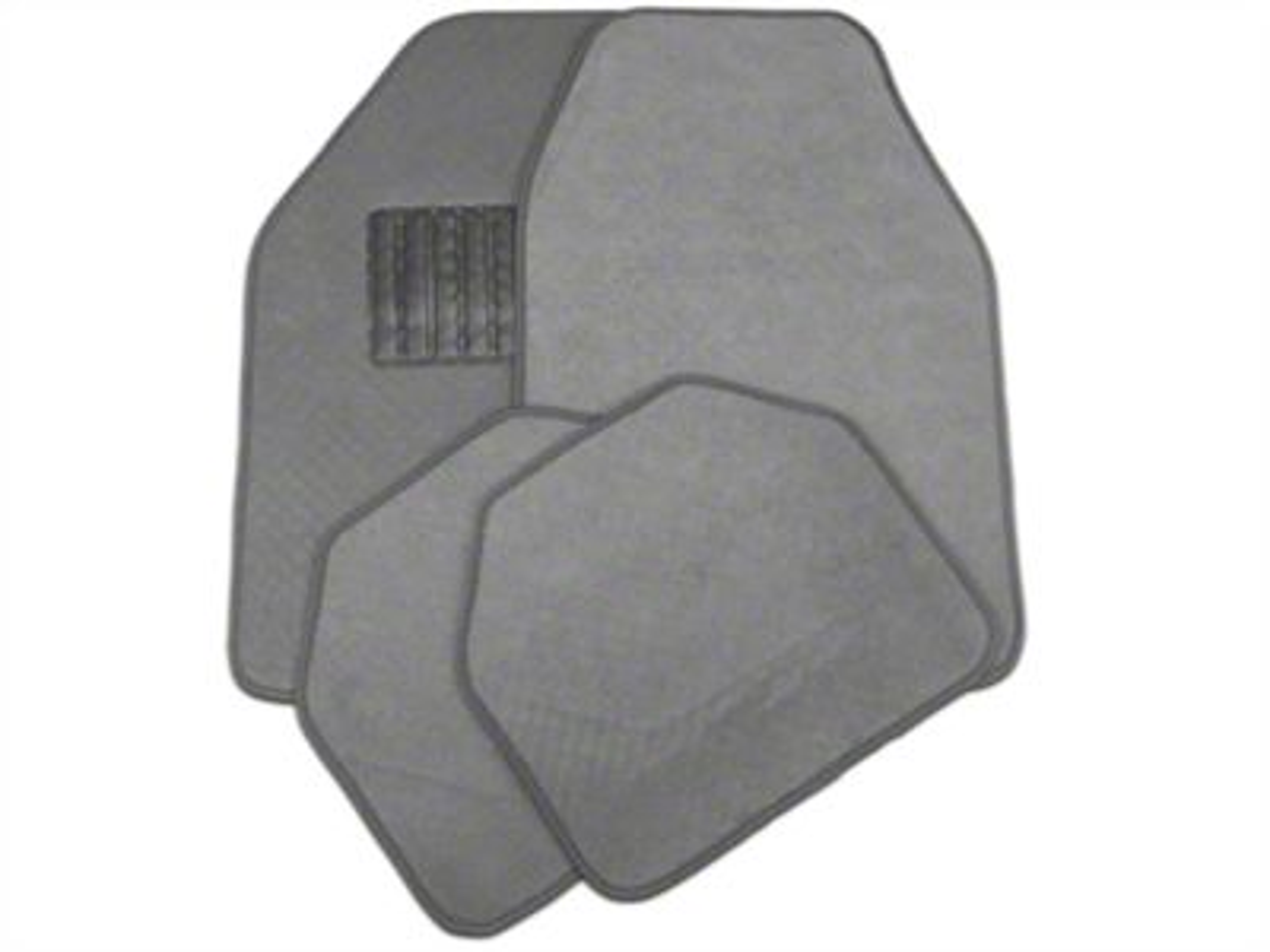 TruShield 4-Piece Fabric Floor Mat Set - Gray (97-14 All)