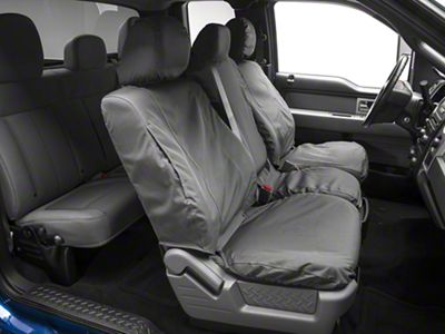 Covercraft Seat Saver Waterproof Front Seat Covers - Gray (09-14 F-150)