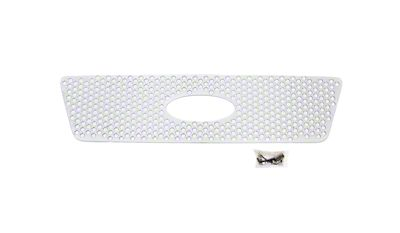 Putco Punch Stainless Steel Upper Overlay Grille w/ Emblem Cutout - Polished (04-08 F-150 XL, XLT, Lariat)