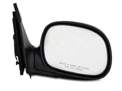 OE-Style Replacement Non-Heated Powered Foldaway Side Mirror w/ Black Cap - Passenger Side (97-02 F-150)