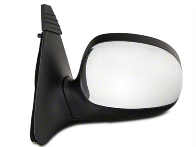 OE-Style Replacement Non-Heated Powered Foldaway Side Mirror w/ Chrome Cap - Driver Side (1997 F-150)