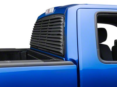 Willpak Low Profile Rear Window Louver (04-14 F-150 w/ Sliding Window)