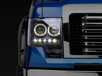 Recon Projector Headlights - Smoked Lens (09-14 F-150 w/o Factory Projectors/HIDs)