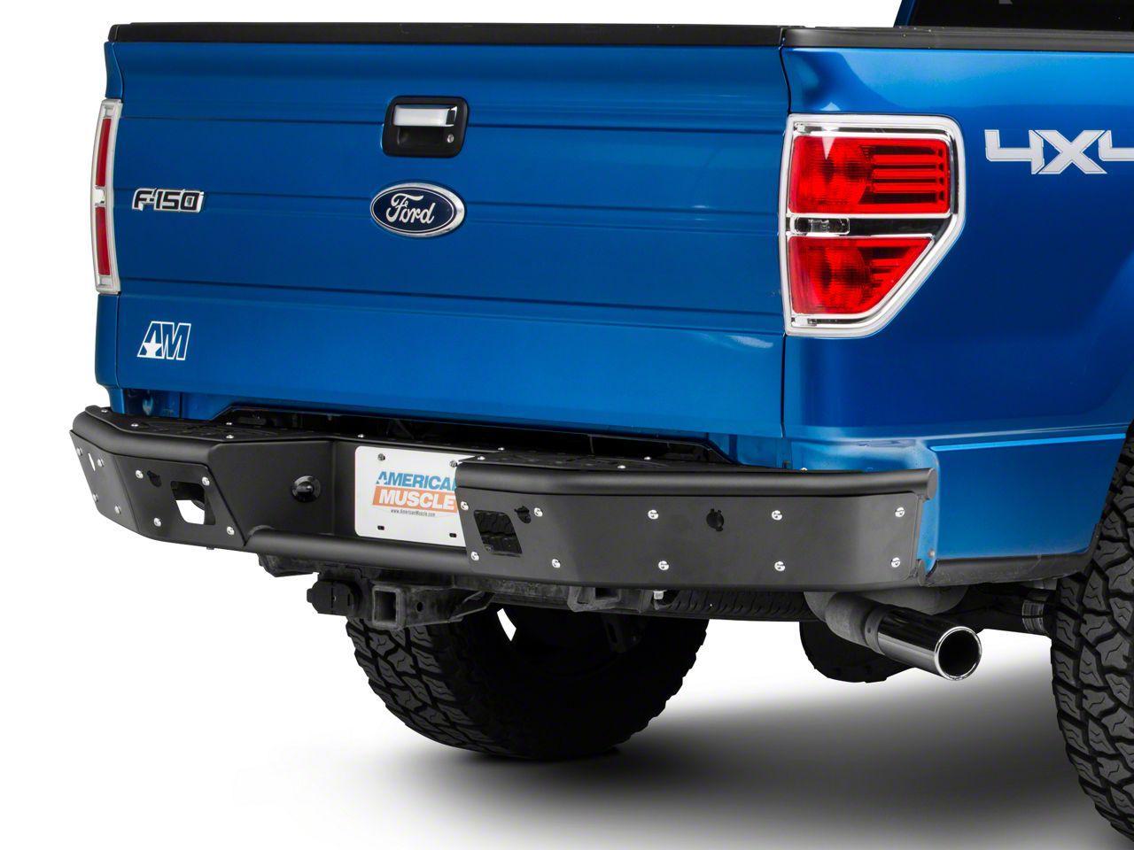 Addictive Desert Designs Stealth R Rear Bumper - Pre-Drilled for Backup Sensors (09-14 F-150)
