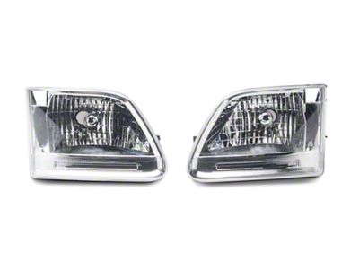 Axial Chrome Euro Headlights (97-03 F-150)