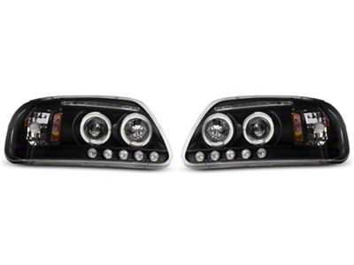 Axial LED Dual Halo Projector Headlights (97-03 F-150)