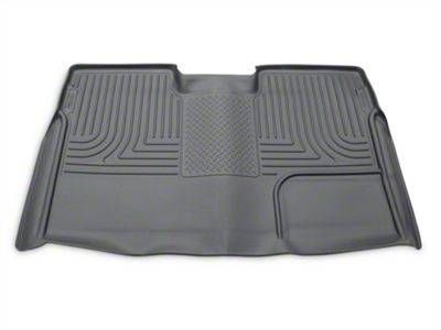 Husky WeatherBeater 2nd Seat Floor Liner - Full Coverage - Gray (09-14 F-150 SuperCrew)
