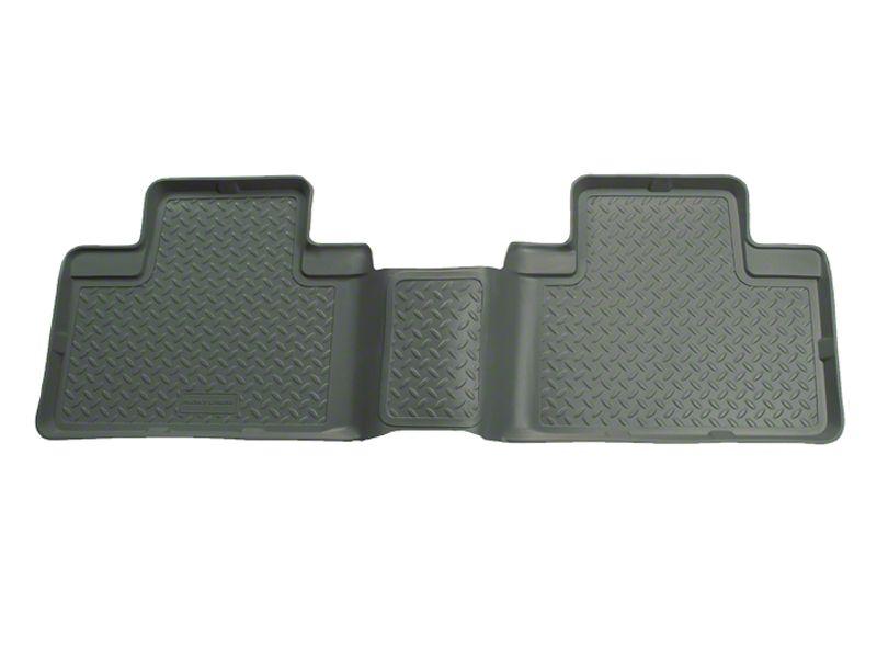 Husky Classic 2nd Seat Floor Liner - Gray (01-03 F-150 SuperCrew)