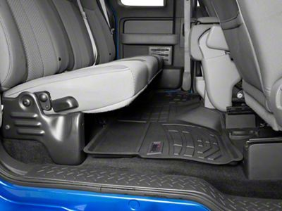 Wade Sure-Fit 2nd Row Floor Liner - Black (09-14 F-150 SuperCab, SuperCrew)