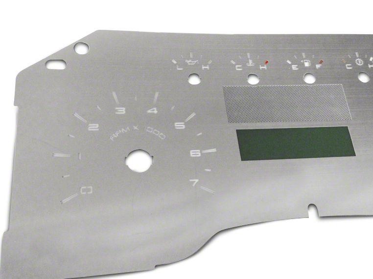 Stainless Steel Gauge Face Kit - White (09-10 F-150 Lariat)