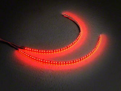 Axial 15 in. LED Strips - Pair - Red (97-19 F-150)