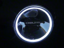 Delta Fascia LED Reflective Driving Light w/ HALO (97-18 F-150)