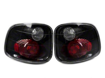 Axial Carbon Fiber Euro Tail Lights (97-03 F-150 Flareside; F-150 Styleside SuperCrew)
