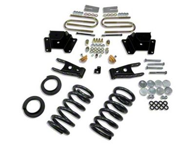 Belltech Stage 1 Lowering Kit - 2 in. or 3 in. Front / 4 in. Rear (97-03 2WD V8 F-150, Excluding Lightning & Harley-Davidson)