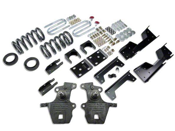 Belltech Stage 1 Lowering Kit - 4 in. or 5 in. Front / 6 in. Rear (97-03 2WD V8 F-150 Regular Cab, SuperCab, Excluding Lightning & Harley-Davidson)